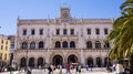 Rossio railway station a train station in lisbon portugal located in the rossio square Royalty Free Stock Photos
