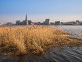 Rostock view to the city germany Stock Photography