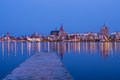 Rostock view to germany Royalty Free Stock Image