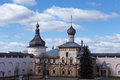 Rostov kremlin russia churches cupola bells towers of near yaroslavl Stock Photos