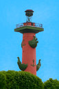 Rostral column Royalty Free Stock Image