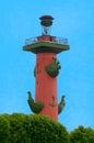 Rostral kolonn Royaltyfri Bild