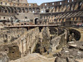 Rostrum of the colosseum Stock Photos