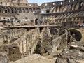 Rostrum of the colosseum Stock Photos