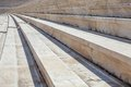The rostrum of stone ancient stadium greek in athens Royalty Free Stock Photos