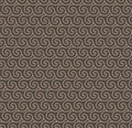 Rosy brown colors wave pattern korean traditional pattern desig design series Royalty Free Stock Image