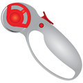 Rotary cutter for creative work vector illustration Royalty Free Stock Photo