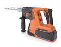 Rotary hammer isolated render on a white background Royalty Free Stock Photo