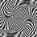 Rotation movement illusion abstract op art background vector Stock Photo