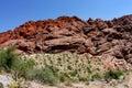 Rote Felsen-Schlucht Nevada Stockfotos