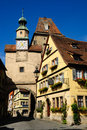Rothenburg in Bavaria Royalty Free Stock Photo