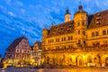 Rothenburg City hall Royalty Free Stock Photo