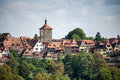 ROTHENBURG, GERMANY/EUROPE - SEPTEMBER 26 : View over the City o Royalty Free Stock Photo