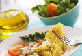 Rotini Pasta Royalty Free Stock Photo
