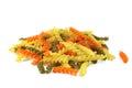 Rotini pasta Royalty Free Stock Photo