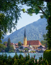 Rottach egern at the tegernsee bavaria germany Royalty Free Stock Photography