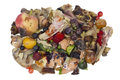 Rotten Food Waste Isolated Con...