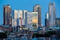Rotterdam City Skyline Royalty Free Stock Photo