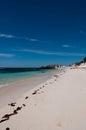 Rottnest island beach is kilometres off the western australian coast near fremantle Royalty Free Stock Image