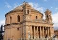 Rotunda of Mosta Church, Malta Royalty Free Stock Photo