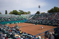 ROU vs IND,Davis Cup in Bucharest,Romania Royalty Free Stock Image