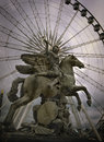 Roue de Paris Photographie stock