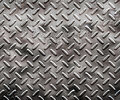 Rough black diamond plate Stock Photography
