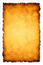 Rough burnt parchment paper background Royalty Free Stock Images