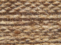 Rough knit camel wool fabric texture pattern taken closeup as background Royalty Free Stock Photos