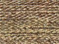 Rough knit camel wool fabric texture taken closeup as background Royalty Free Stock Photos