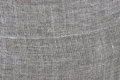 Rough linen cloth close-up Royalty Free Stock Photo