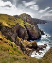 The rough and rocky coastline of Brittany Royalty Free Stock Photos