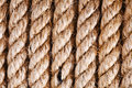 Rough ropes Stock Photo