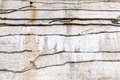 Rough striped grey concrete wall background Royalty Free Stock Photo