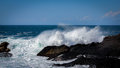 Rough waves Royalty Free Stock Photo