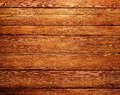 Rough wood planks texture medium dark Stock Image