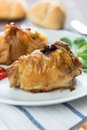 Roulade of poultry Royalty Free Stock Photography