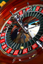 Roulette action Stock Images