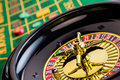 Roulette casino gambling the cylinder of a in a profit and loss is decided by chance Stock Images