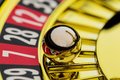 Roulette gambling in the casino Royalty Free Stock Photo