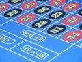 Roulette numbers Stock Photos