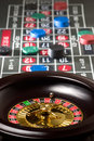 Roulette spinning Stock Photos