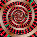 Roulette spiralling down Royalty Free Stock Photos