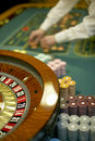 Roulette table Stock Photography