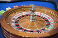 Roulette wheel abstract close up Royalty Free Stock Image