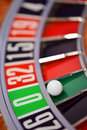 Roulette wheel gambling concept photo Royalty Free Stock Images
