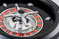 Photo : Roulette wheel  the