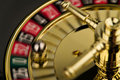 Roulette Wheel in Motion Royalty Free Stock Image