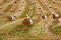 Round bales 2 Royalty Free Stock Photo