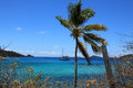 Round bay in st john u s virgin islands Stock Image
